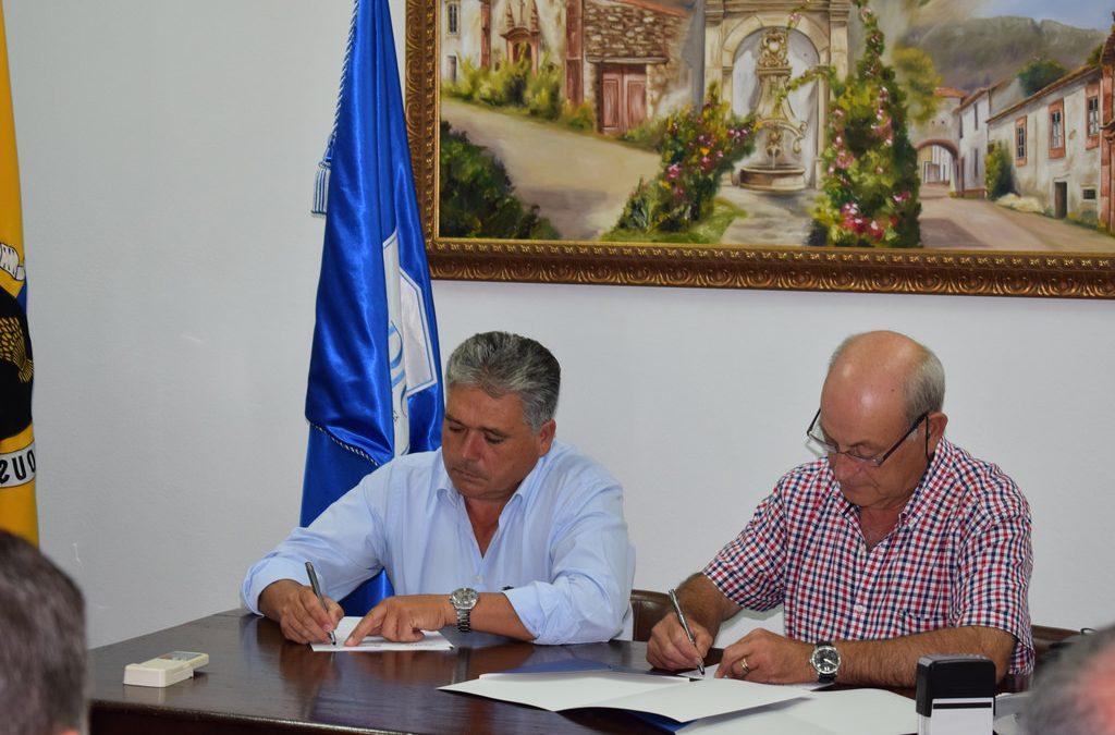 ADIC | Cerimónia de assinatura do contrato de empreitada