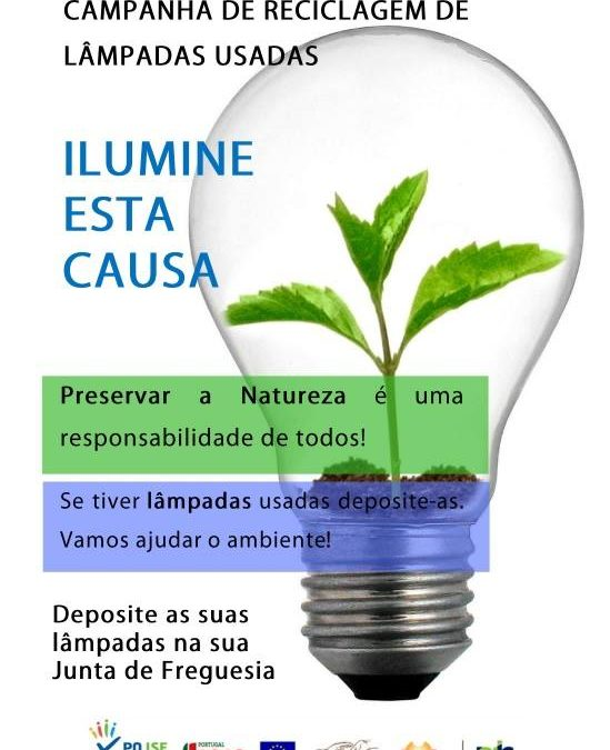 Campanha de Reciclagem de Lâmpadas Usadas | RLIS Barcelos Sul