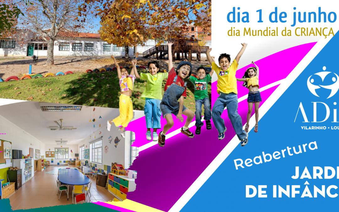» ADIC | Reabertura do Jardim de Infância